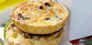 Mini Biltong & Cheese Quiche